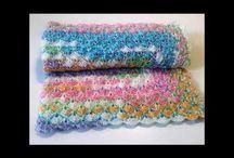 Crochet baby blankets by LovelyGR
