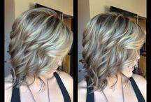 Photo shoot hair