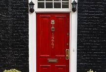 Entrances & front doors, beautiful ones...