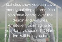 Custom Home Building Construction / Build your dream home with custom home building construction. PD Hartz Builders is located in Mokena, Illinois and brings you inspiration and tips to envision and create your luxurious environment. Visit www.PDHartzBuilders.com for more information.