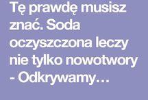 soda / ocet / olej