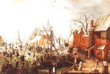 Hendrick Avercamp (1585 - 1634) / Dutch art.