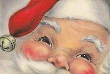 Christmas art, Santa, & decor / by Stephanie Dotson
