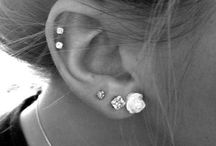 Ear piercings ideas