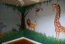 safari wall