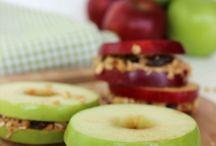 POMYSŁY NA JABŁKO / jabłka są zdrowe - jedzmy jabłka:)