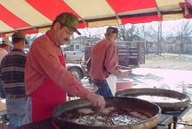 Frederick's Fantastic Oyster Fry / Frederick's Fantastic Oyster Fry is the event of the year for Southwest Oklahoma.  Every 3rd Saturday in February we go down to the coast and get FRESH oysters.  The oysters are brought back to Frederick where community volunteers bread and serve them to 1,000 hungry visitors.    We always hold a craft show in conjunction to this fabulous feast. 2014 marks our 25th year!