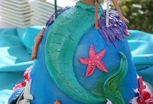 mermaid cakes / by liz