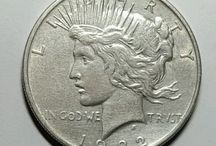 My Coins / The pictures are not mine, but the same coin and year.