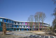 Colorful Buildings / The most colorful buildings made with the Advanced Materials of ALUCOIL