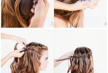 Samodzielnie zrobione fryzury