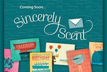 Sincerely Scent Greeting Cards  / http://rockindascents.scentsy.us / by Shawnie Bradshaw