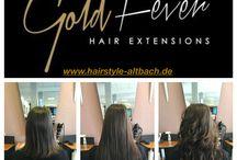 Gold Fever Hair Extensions Vorher / Nachher / THE FUTURE IS GOLD!!  Wundervolle Haarverlängerungen und Haarverdichtungen bzw. Extensions von weltweit höchster Qualität von Gold Fever!!  WILL YOU CATCH THE FEVER...#GoldFeverHair