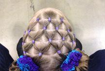 Girly hairdo's