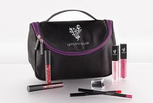 Younique Money saving Collections / Get all your Younique products in a Gorgeous Black and Purple Make Up Bag at reduced prices