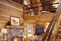 Little house on the prairie / Cabin inspiration- decor clever ideas. Inspiration.