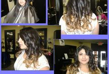 Ombres and Fun colors / A collection of different Ombres and different, non-natural hair colors
