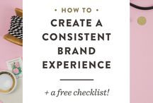 Branding Tips / Awesome tips on branding your business, brand boards, and more