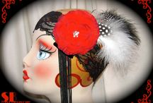 Flapper Dapper Boutique / Flapper Dapper Vintage Inspired Hats, Bling & Accessories from the Shakti Bliss Boutique @ http://www.shaktibliss.com/shop