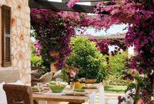 Área de lazer jardinagem