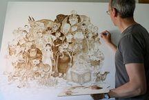 Terry Pratchett illustrations