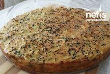 pırasalı mısır unlu kek