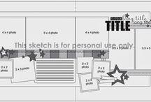 Scrapbook Sketches