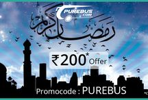 Ramzan special offer` / Online bus ticket booking