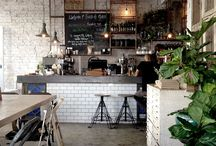 rustic cafe design
