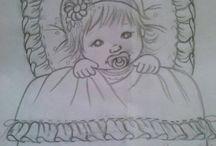 Bebek çizimleri
