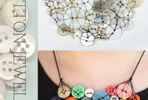 Fab things to do with buttons. / Some great ideas for creative button projects, don't you just Love Buttons?