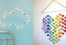 Παιδικό δωμάτιο: Ιδέες ανανέωσης / Με μικρές DIY ή πολύ οικονομικές πινελιές, μπορείτε να δώσετε χρώμα και ζωντάνια στο δωμάτιο του μικρού σας!