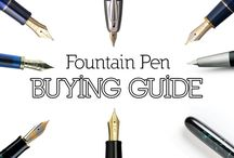 Fountain Pens & Beautiful Ink