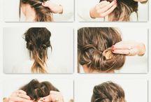 * Hair style *