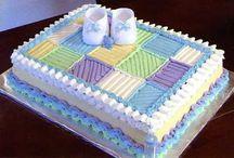 babyshower cake ideas / by Mrs Tina