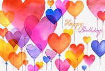 Joyeux Anni to you / Anniversaire Happy Birthday