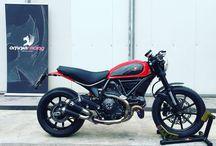 Ducati Scrambler / Ducati Scrambler cafè racer Elaborazione Omnia Racing