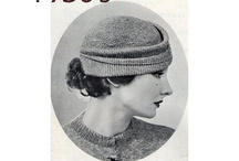 1930´s hats and fashion