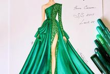 Draw a dress