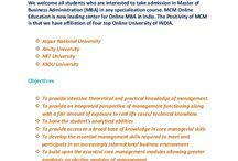 Online MBA from Jaipur University