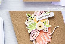 Cards - WPlus9 (by Yana Smakula) / Handmade cards using stamps, dies and inks from WPlus9 by Yana Smakula