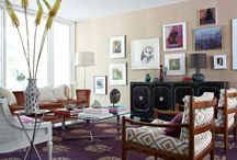 Living Rooms {living in color} / This board is for those who crave colour!