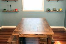 Rustic Farm House Tables