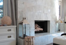 fireplace / by Naureen F.
