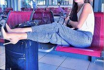 Δεσποινα βανδη στο αεροδρόμιο