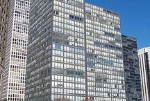 Mies van der Rohe / foto's van gebouwen ontworpen door Mies van der Rohe