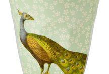 Collection de gobelets melamine RICE avec motifs / Tous les magnifiques gobelets décorés en mélamine de RICE.DK