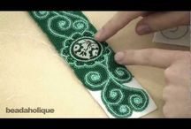Bead embroidery tutorials