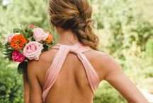 Open Back Drees