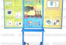 Trainer Sistem Pengapian Type Transistor Dengan ECU / Trainer Sistem Pengapian Type Transistor Dengan ECU